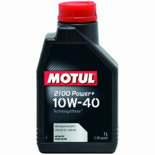 Моторно масло Motul 2100 POWER+ 10W40 - 1 литър