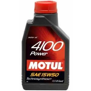 Моторно масло MOTUL 4100 POWER 15W50 - 1 литър